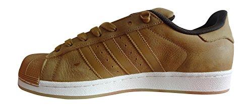 Adidas Superstar Herren Sneaker Mesa / Mesa / Dbrown S75540