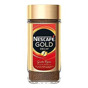 NESCAFÉ GOLD DECAF Caffè Solubile Decaffeinato Barattolo, 200 g