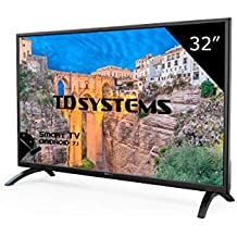 "TD Systems K32DLM8HS - Smart TV 32""(Full HD Smart, Resolución 1366 x 768, 3x HDMI, VGA, 2x USB, Smart TV)"