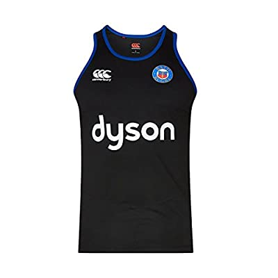 Bath 2017/18 Players Rugby Training Singlet - Tap Shoe from Canterbury