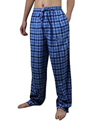 NFL Detroit Lions Mens Autumn / Winter Plaid sleepwear / pajama pants