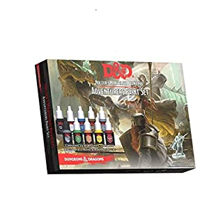 Army Painter ARM75001 The Adventurers Paint Set, Mehrfarbig