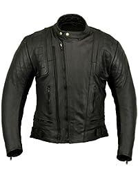 US20 Womens Leather Motorbike Jacket Motorcycle