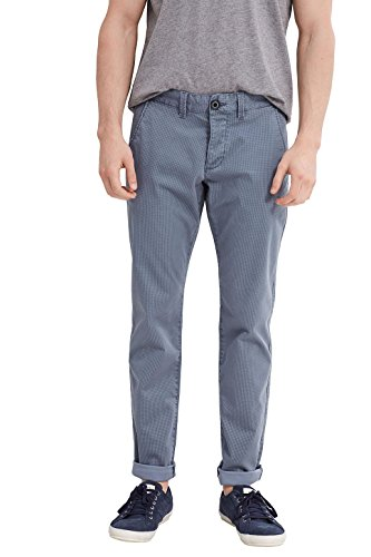 edc by ESPRIT Herren Hose Blau (Grey Blue 420)