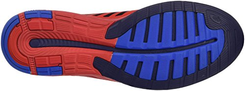 Asics Herren Fuzex Gymnastik Rosso (Vermilion/Indigo Blue/Electro Blue)