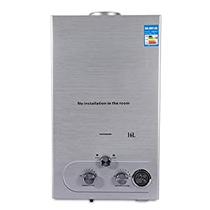 16L 3.2KW Calentador de agua Caldera Calentador de agua de gas natural