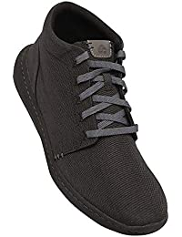 Clarks Men's Step Urban Hi Black Sneakers