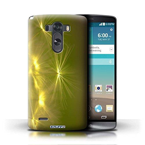 Kobalt® Imprimé Etui / Coque pour LG G3/D850/D855 / Pourpre conception / Série Allumez la vie Jaune