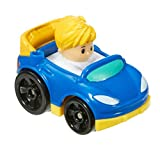Little People Fisher Price Wheelies Push Cars Set of 4 includes Dumper Truck, Eddie & more - S6