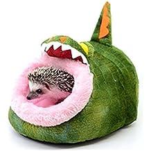 Minkoll Hamaca pequeña para mascotas, diseño de animales pequeños, para casa de ratas y