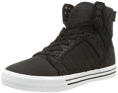 Supra - Skytop, Sneaker Unisex – Adulto Nero (Nero (Black/White))