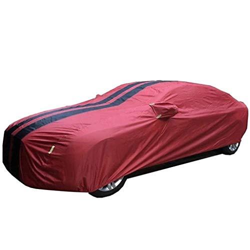 Autoabdeckung Kompatibel Mit Toyota Hilux 2016 2017 Crew Cab Pickup-Auto-Schutzhülle, Allwetteratmungsaktive Wasserdichten Staubdicht Und UV-beständig Polyester-Gewebe Car-Cover, Vereisung Zu Verhinde