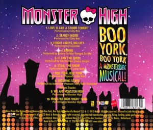Image of Monster High: Boo York, Boo York (Original Motion Picture Soundtrack)