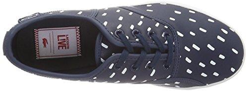 Lacoste L!VE - Sneaker - Femme bleu (NVY/WHT)