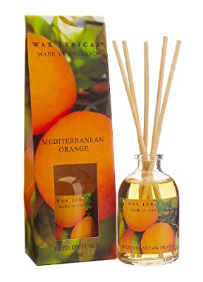 Wax Lyrical 50 ml Reed Diffuser, Mediterranean Orange from Wax Lyrical