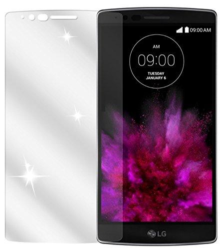 dipos LG G Flex 2 Schutzfolie (2 Stück) - kristallklare Premium Folie Crystalclear