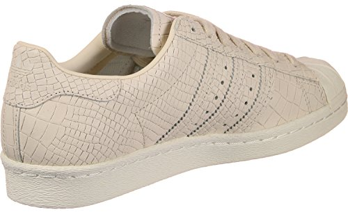 Damen adidas Beige Sneaker 80s Off White Linen Hohe Linen Superstar drqx4w6Sr