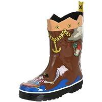 Kidorable Originale di Marca Stivali di Gomma Pirata per bambini, ragazze, ragazzi
