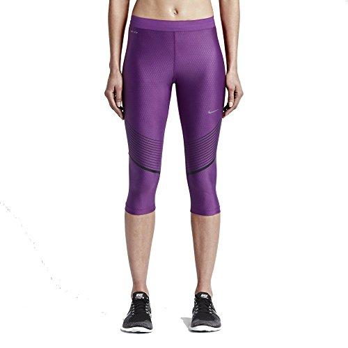 Nike Power Speed Femme Dri-FIT Running Capris, Pourpre purple