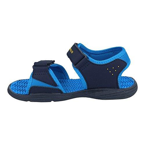 New Balance Kids Poolside Sandal K2004NBL Blue and shades of blue