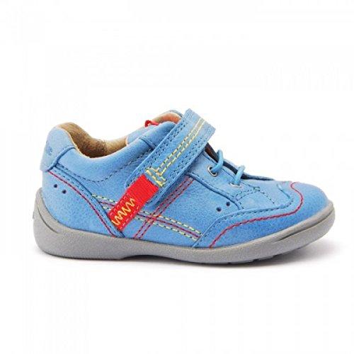 Start-rite SR Sam Bright Blue Super Soft Leather Boys, Schuh Bright Blue