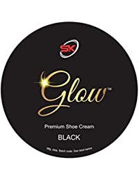 Glow Premium Shoe Polish Cream (Shoe Polish Black)