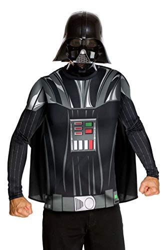 Darth Shirt Vader Kostüm - Rubie's 3880678 - Kostüm für Erwachsene - Darth Vader Dress up Adult, M, schwarz