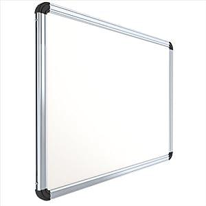 Pragati Systems Prima Regular Steel (Magnetic) Whiteboard PRMWB6090, Heavy-Duty Aluminium Frame, 2X3 Feet (Pack Of 1)