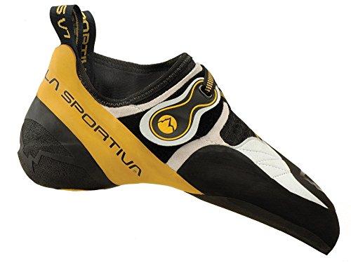 La Sportiva Unisex-Erwachsene 20g000100 Kletterschuhe Mehrfarbig (White/Yellow 000) 43.5 EU