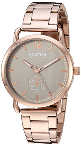 Kenneth Cole Reaction Womens Analog-Quartz Watch with Stainless-Steel Strap RK50101005
