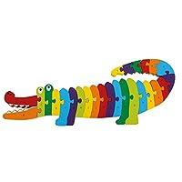 Legler Puzzle Crocodile ABC Non-Wooden Puzzles