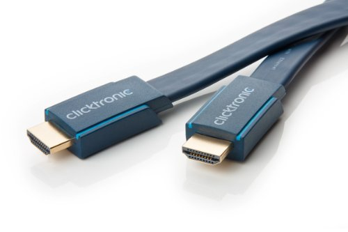 Clicktronic Casual Câble plat HDMI