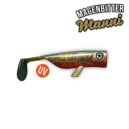 Drunk Bait - Magenbitter Manni - 8cm - 6 Stück