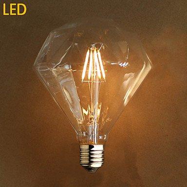HZZymj-E27 4w G125 führte Diamant Edison-Lampe Lichtquelle Szene , 220-240v