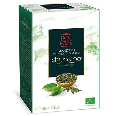Thés de la Pagode - Thé Vert GRAND CRU CHUN CHA BIO Equitable - 90 infusettes