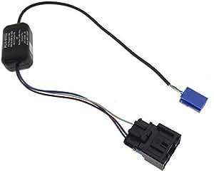 Télécommande au volant pEUGEOT 206, 306, bECKER, radio, câble adaptateur dIN iSO