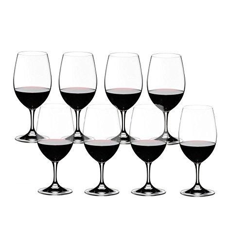 Riedel Ouverture Magnum Kauf 8 Zahl 6, Rotweinglas, Weinglas, Trinkglas, Hochwertiges Glas, 530 ml, 7408/90 -
