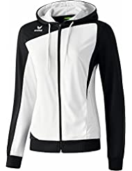 erima Damen Jacke Club 1900 Trainingsjacke mit Kapuze