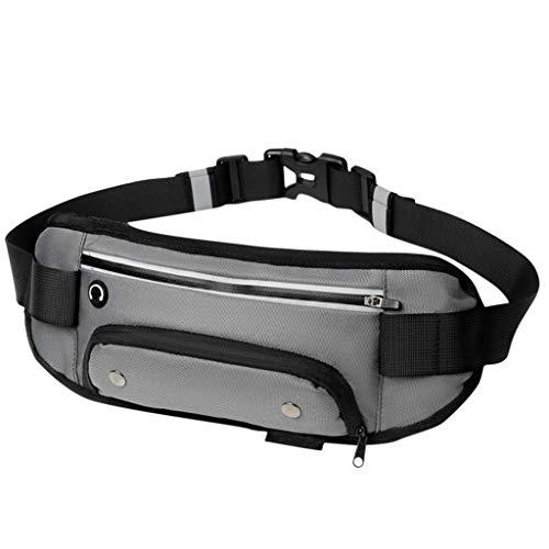 DAKERTA Wasserkocher Outdoor Sport Tasche Multifunktions Mobile Fitness Lauftasche Reiten Reise Reflektierende Gürteltasche