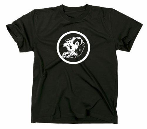 Gargamel T-Shirt, L, Schwarz