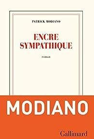 Encre sympathique par Patrick Modiano