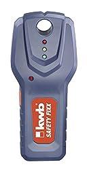 kwb Leitungssucher Safety-Fixx 011620 (Ortungsgerät für Stromleitungen, Metalle, Holzbalken)