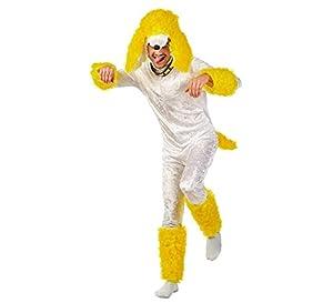 Limit caniche traje (extra grande, blanco/amarillo)