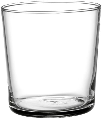 Bormioli Rocco Bodega Trinkglas Medium 335ml, ohne Füllstrich, 12 Stück