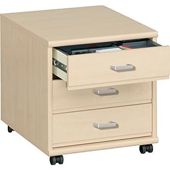 Rollcontainer kunststoff ikea  Kettler Rollcontainer aus Holz – Schreibtisch Rollcontainer mit 3 ...