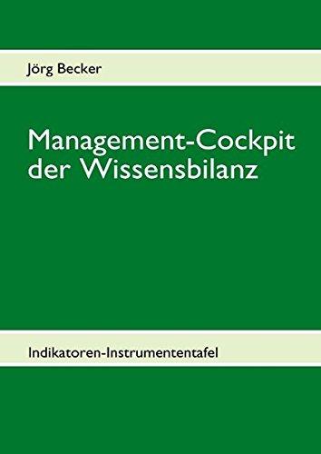 Management-Cockpit der Wissensbilanz: Indikatoren-Instrumententafel