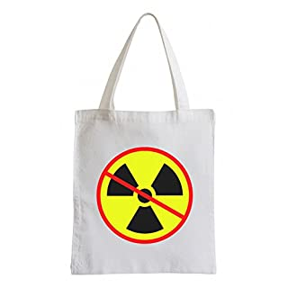 Atomkraft Nein Danke AntiatomkraftFun Party Clubwear USA Jutebeutel