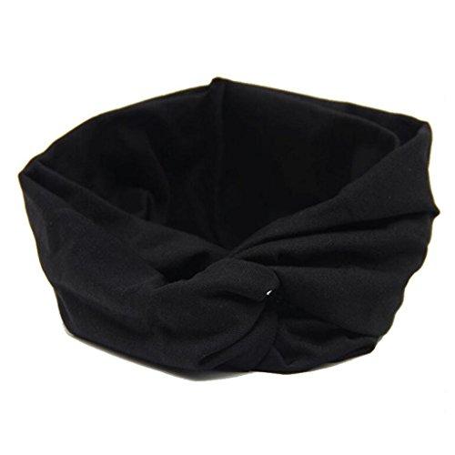 Oyedens donne Headwear Croce Sport Yoga panno fascia turbante foulard
