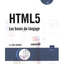 HTML5 - Les bases du langage