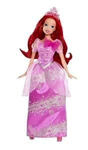 Mattel W5550 - Disney Princess Märchenglanz Prinzessin Arielle, Puppe